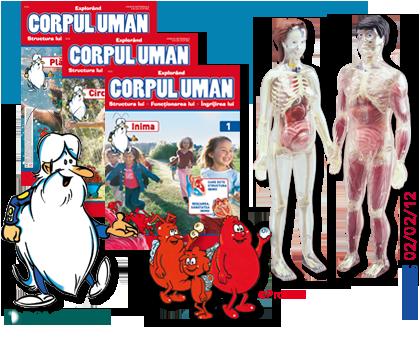 Deagostini : Explorand corpul uman. Din 2 februarie 2012
