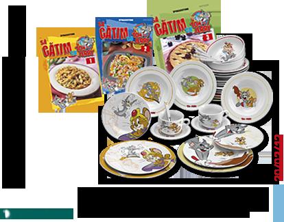 Deagostini : Sa gatim cu Tom si Jerry. Din 21 februarie 2012